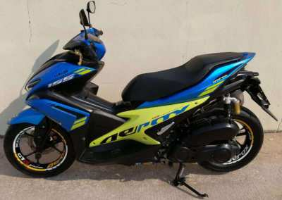 03/2018 Yamaha Aerox 155 49.900 ฿ Finance by shop