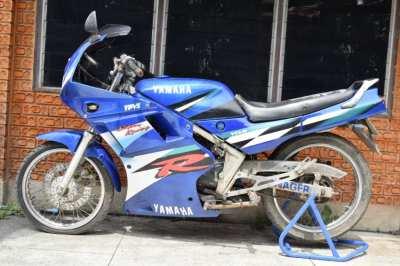 ขาย YAMAHA TZR 150 มีเล่ม/พร้อมโอน สตาร์ทติด ขี่ได้ พร้อมใช้งาน สีฟ้า