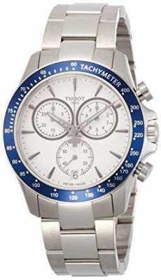 Tissot Chronograph Blue Sports Watch