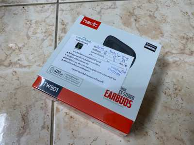 Bluetooth Havit True Wireless Model TW901 (ฮาวิท หูฟังบลูทูธ รุ่น 901)
