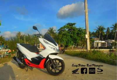 Motorbike trade and rental for sale in Koh Phangan