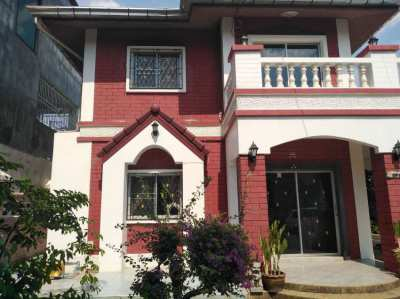 Urgent! Rent 2 storey house for  20,000 baht / month