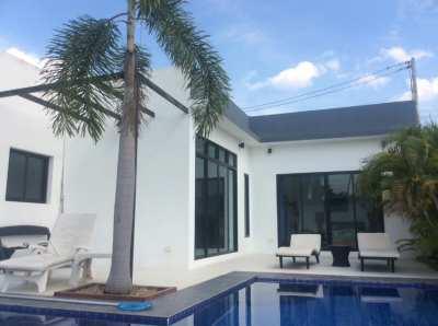 Big discount , 3 beds ,pool villa , Huay yai ,2,950 millions