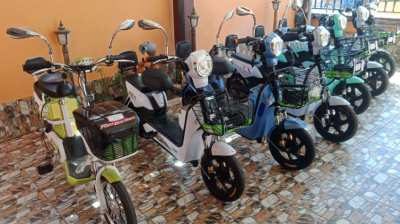 Udon Thani e-bike rental