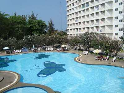 Reduced to Only 750,000 Baht for a Nice Studio in Jomtien Beach Condo