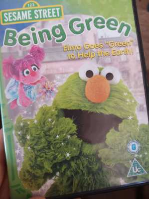 Original Kids DVD - Sesame Street - Being Green ** free postage **