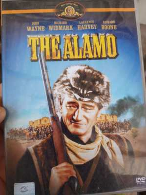Original John Wayne DVD - The Alamo  ** free postage **