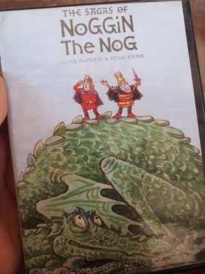 2 x Original kids DVDs  - Noggin the Nog   ** free postage **