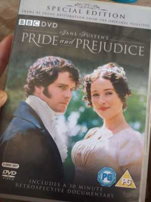 2 x Original BBC DVD - Pride and Prejudice