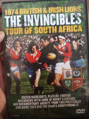 Original Rugby DVD - The Invincibles; Lions in South Africa