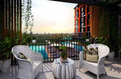 Two Bedroom New Condo in Hua Hin City 4 million THB