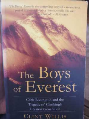The Boys of Everest; Climbing's Greatest Generation    *free postage*