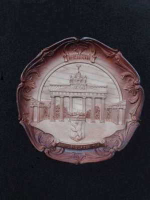 Berlin Wall Plaque Plate Brandenburger