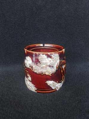 Eagle pattern pot ashtray