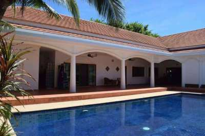 L-Shaped Pool Villa in Secure Village South of Hua Hin