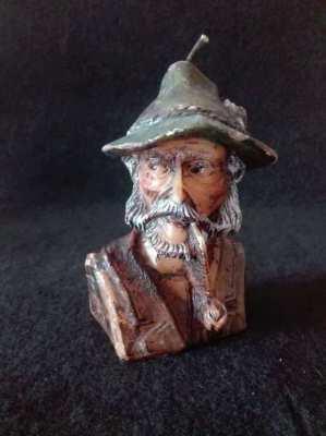 Vintage Wax Old Man