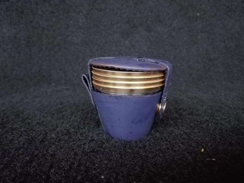 Stainless Steel Wisky Cups Set