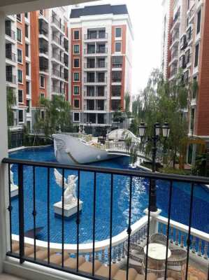 Espana for rent 1 bed pool view