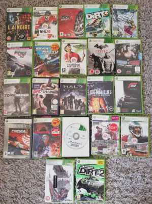 22x Original UK Xbox360 games