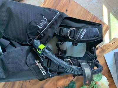 Aquatec BCD & Regulator for scuba diving