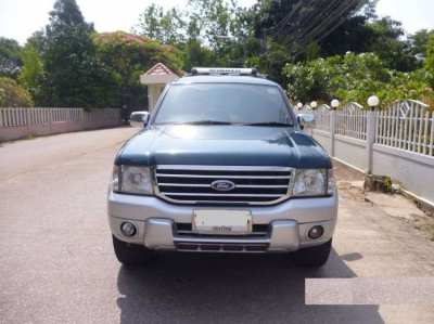Sale 2004 Ford 4x4  Everest Turbo Engine 2500 cc. Diesel