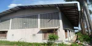 Warehouse for rent / urgent, 500 sq.m., Damnoen Saduak District Ratchaburi Province, adjacent to Khlong Damnoen
