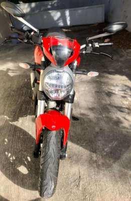 Ducati Monster 797 December 2017 red