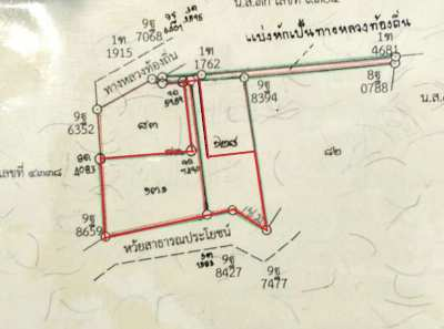 Two plots of land close to Khanom beach
