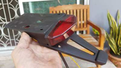 KLX, CRF, ETC TAIL TIDY, INCLUDING MULTI L.E.D.TAIL LIGHT.