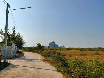 Wow!  A True Land Bargain 4-0-27 Rai 4km. to Beautiful Beach