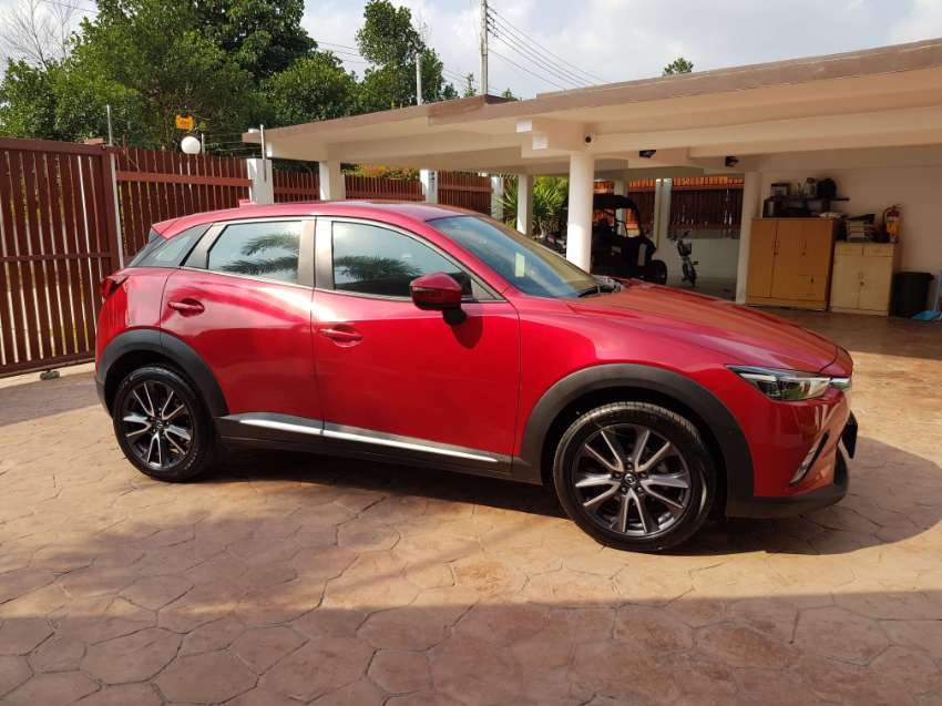 mazda cx3 2017 red low miles like new priced for quick sale