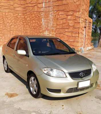 Toyota Vios E A/t low mileage 120,000 ThB