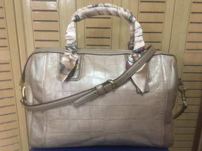 ❌ Forward ❌กระเป๋าCoachแท้ ????Coach Taylor Exotic Leather Satchel Bag Crossbody
