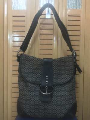 Coach forwarder bag 100% authentic 2nd hand ???? Coach 6377 shoulder bag, small C pattern ????