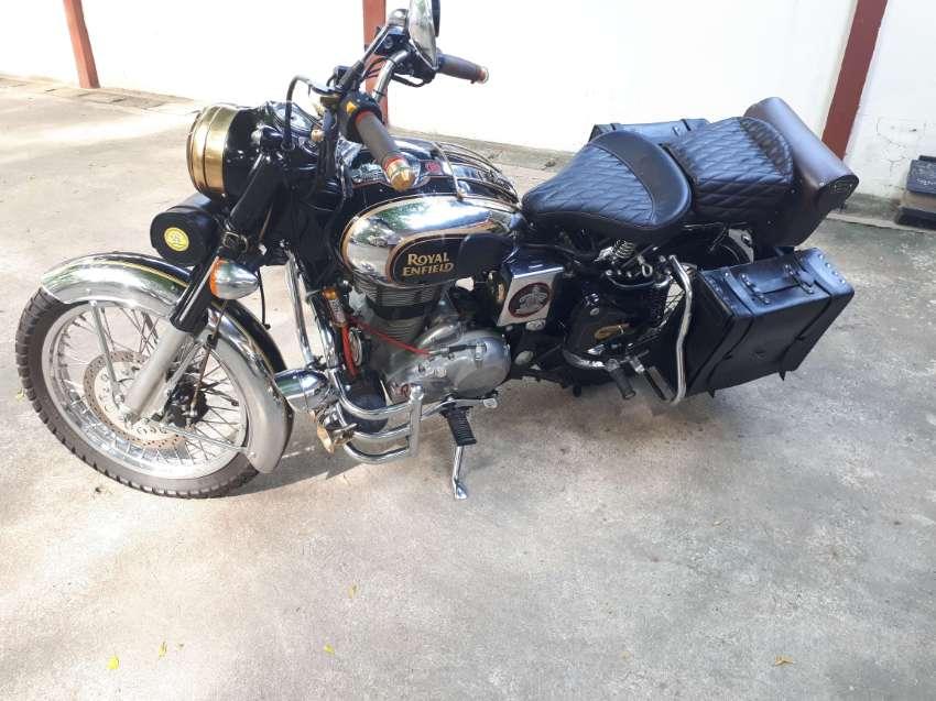 """FOR SALE """"UNIQUE"""" Royal Enfield 500cc Classic Chrome"""