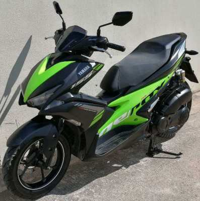 Yamaha Airox 155 S/R version 3.000 ฿/month 3 month -10% 6 month -15%