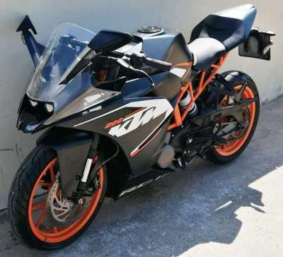 KTM RC-200 7.500 ฿/month 3 month -10% / 6 month -15%