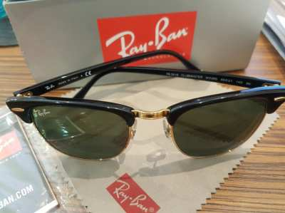 Ray●Ban Sunglasses /Clubmaster New! 6,999฿