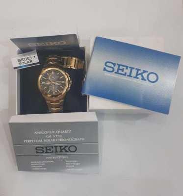 Men's SEIKO SOLAR watch