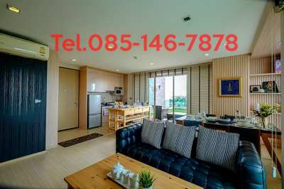 Selling, rent, luxury condo, Penthouse room, 115 sq.m., Nonthaburi, have shuttle