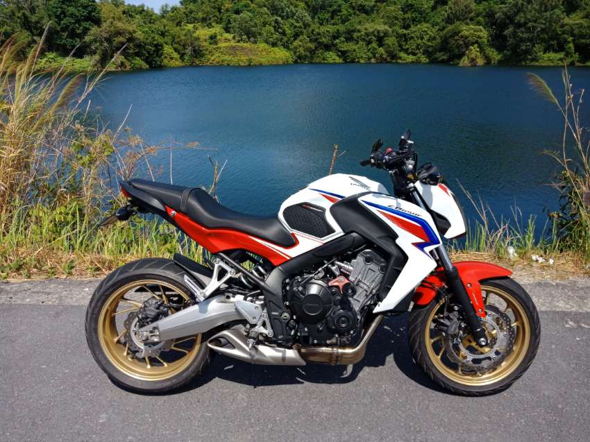 Honda CB650F, 2015 excellent condition