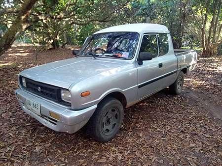 MAZDA FAMILIA 1400CC pickup, very good engine