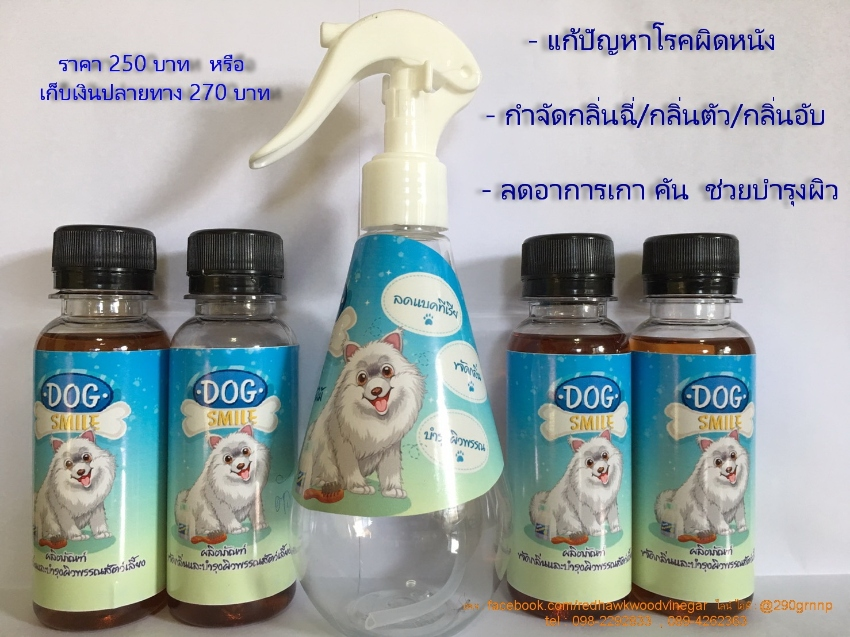 Skin care and deodorizing products - DOG SMILE