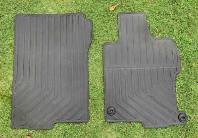 HONDA ACCORD RUBBER FLOOR MATS PLUS TRUNK/BOOT LINER