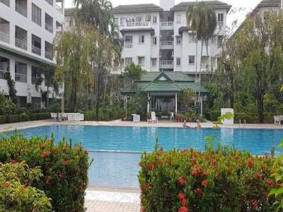 CR1821 Baan Suan Lalana Condo 2 bed for rent