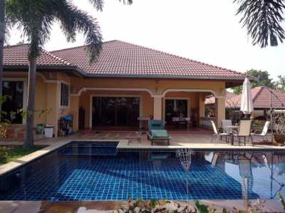 Sale Private detached house with pool Nong Ket Yai (Pattaya), convenie