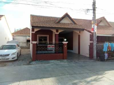 Townhouse for sale the area 24 sq.w : the house is on the corner