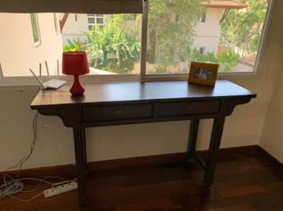 Wood console table Chinese style