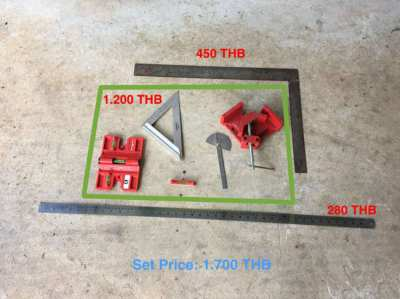 Measurement Tool Set for Sale  - start from 280 THB