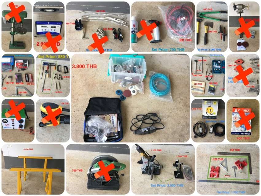 Heavy-duty Clamp Set for Sale  - 990 THB ONLY FREE Shipping
